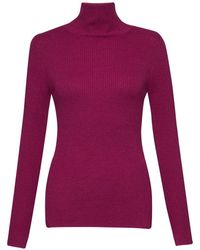 French Connection - Nicola Knits High Neck Jumper - Lyst