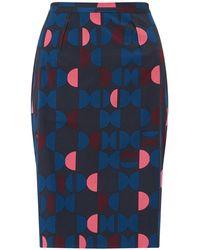 Jigsaw - Oval Geo Pencil Skirt - Lyst