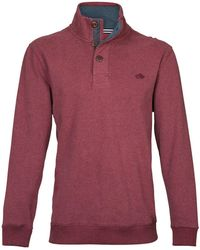 Raging Bull - Button-up Jersey Sweater - Lyst