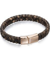 Fred Bennett   B4685 Mens Bracelet   Lyst