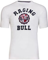 Raging Bull | Crest Applique T-shirt | Lyst