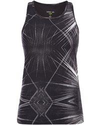 Label Lab - Lazer Lights Print Vest Top - Lyst