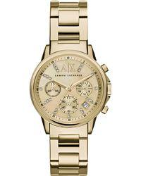 Armani Exchange - Ax4327 Ladies Bracelet Watch - Lyst