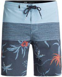 Quiksilver - Men's Trespasser 19 Beach Shorts - Lyst