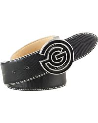 Galvin Green - Wesley Leather Belt - Lyst