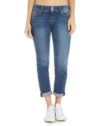 Hudson Jeans - Ginny Straight Jean With Ankle Cuff - Lyst