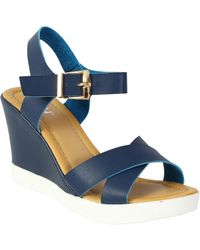 Betsy - Cross Over Wedge - Lyst