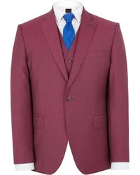 Gibson - Raspberry Churchill Hopsack Two Piece Suit - Lyst