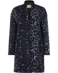 Inwear - Leopard Print Coat - Lyst