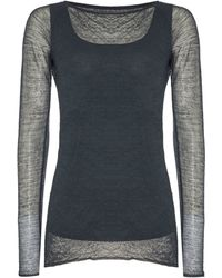 Sarah Pacini - Long Fitted Jumper - Lyst