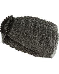 Jane Norman - Grey Gem Headband - Lyst