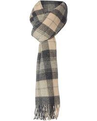 Minimum - Wool Check Scarf - Lyst