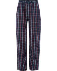 GANT - Checked Pyjama Pant - Lyst