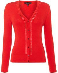 Ellen Tracy - Longsleeve Knitted Cardigan - Lyst