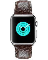 Mintapple - Lizard Strap For Silver Apple Watch - Lyst