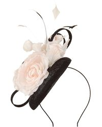 Precis Petite - Black Pill Box Fascinator - Lyst