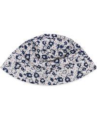 Esprit - Girls Cotton Floral Print Hat - Lyst