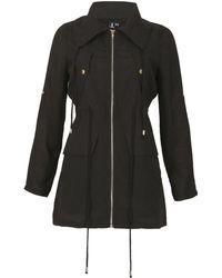 Izabel London - Long Sleeve Zip Up Jacket - Lyst