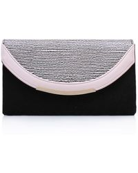 85624c4f8e4fb Ted baker Apapane Quilted Clutch Bag in Black