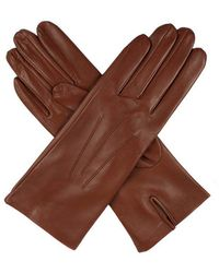 Dents - Ladies Silk Lined Leather Glove - Lyst