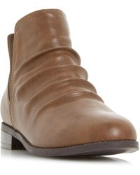 Dune - Piaa Round Chelsea Ankle Boots - Lyst