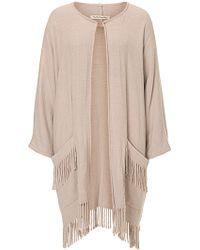 Betty Barclay - Fringed Blanket Coat - Lyst