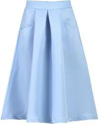 Jolie Moi - Pleated A-line Skirt - Lyst
