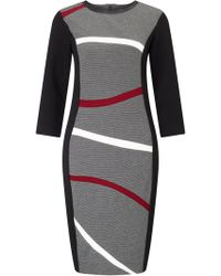 James Lakeland - Wavey Stripe Dress - Lyst