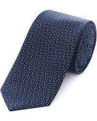 HUGO - Ditsy Spot Tie - Lyst