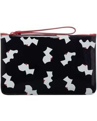 Lulu Guinness - Kissing Cameo Top Zip Pouch - Lyst