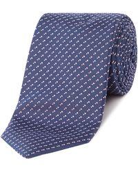 BOSS - Broken Texture Tie - Lyst