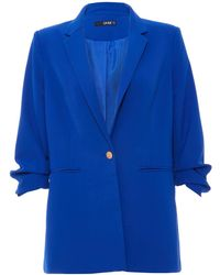 Quiz | Royal Blue 34 Button Suit Jacket | Lyst
