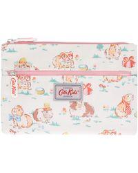 Cath Kidston - Girls Double Zip Pet Party Pencil Case - Lyst