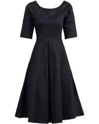 Jolie Moi - Half Sleeve Retro Swing Dress - Lyst