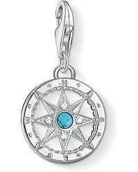 Thomas Sabo - Charm Club Compass Pendant - Lyst