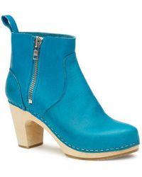 Swedish Hasbeens - Zip It Super High Boots - Lyst