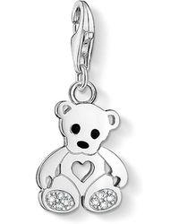 Thomas Sabo - Charm Club Teddy Bear Pendant - Lyst