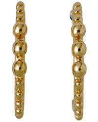 Pilgrim - Bluebell Gold Plated Earrings - Lyst