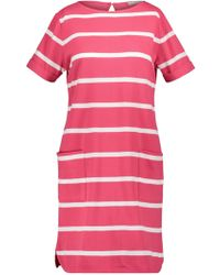Betty & Co. - Textured Striped Dress - Lyst