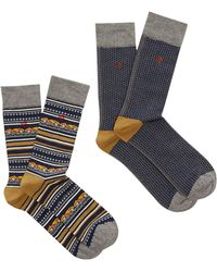 White Stuff | Men's Open Road 2 Pack Socks | Lyst