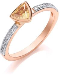 Bouton - Stacker Ring Trillion - Lyst