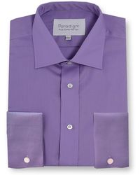 Double Two | Paradigm King Size Single Cuff Pure Cotton Shirt | Lyst