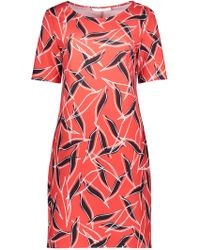 Betty & Co. - Graphic Print Jersey Dress - Lyst