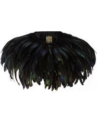 Biba - Feather Cape - Lyst