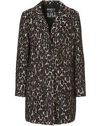 Betty Barclay - Animal Print Coat - Lyst