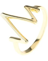 LÁTELITA London - Heartbeat Ring Gold - Lyst