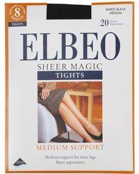 Elbeo - Sheer Magic Medium Support 20 Denier Sheer Tights - Lyst