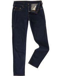 True Religion - Rocco Midnight Dark Wash Slim Fit Jeans - Lyst