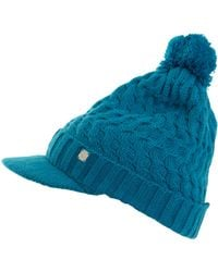 Green Lamb - Holly Cable Peaked Hat - Lyst