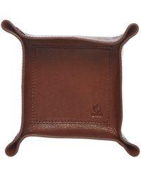 Howick - Tan Grain Leather Valet Tray - Lyst